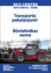 Transporta pakalpojumi / Būvtehnikas noma
